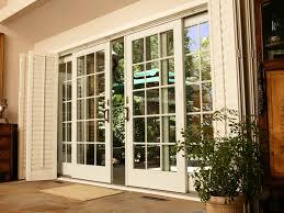 Patio Door Styles Andersen Sliding Patio Door About Flowy Home Design Styles