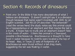 dinosaurs lived with