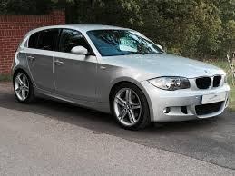 white bmw 1 series sport used 2008 bmw 1 series m sport stop start for sale in chesterfield