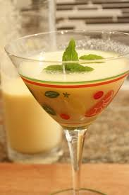martini ginger chilled cantaloupe and ginger soup or cocktail u2014 your choice