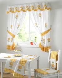 modern yellow kitchen kitchen dazzling modern yellow kitchen curtains retro cherry