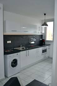 cuisine avec machine à laver cuisine avec lave linge lave linge dans la cuisine cuisine avec lave