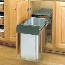 under sink trash pull out kitchen sink trash can under sink trash pull out built in trash cans