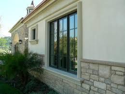 modern windows old stone house cast stone sill and window trim