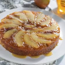 honey pear upside down cake