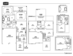 the lincoln floor plans goodall homes