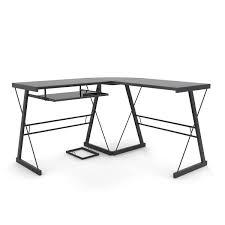 L Shaped Computer Desk Black by Stillman L Shaped Desk In Black