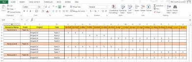 resource capacity planning template excel team resource plan excel
