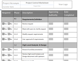 Project Project Management Change Request by Document Change Log Template