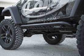 jeep rock sliders 2007 2017 jeep jk signature series 4 door rock sliders jeep jk