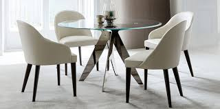 sedie da sala da pranzo la sala da pranzo berto arredata dal tavolo ovale e rotondo ring