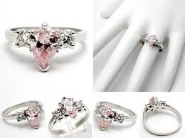 cool engagement rings pink diamond engagement rings gold ring beauty