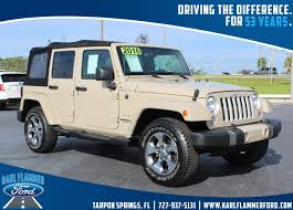 ford jeep 2016 karl flammer ford inc vehicles for sale in tarpon springs fl 34689