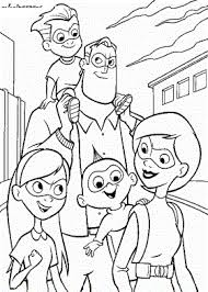 incredibles coloring coloring pages