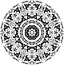 clipart circular ornament 6