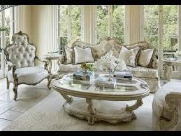 Michael Amini Living Room Furniture Platine De Royale Living Room Sofa Set In By Michael Amini