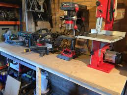 work bench tools machine tools grinder disc sander belt