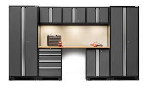 Storage Furniture Newage Products Bold 3 0 Series 8 Piece Garage Storage Cabinet Set