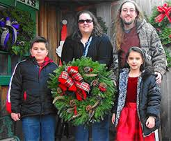 order christmas trees and wreaths online from beckwith choose and