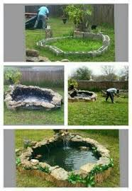 Pond In Backyard by How To Build A Raised Pond With Railway Sleepers Ponds And