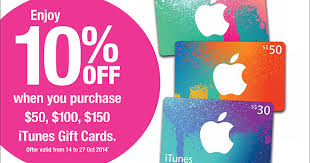buy gift cards at a discount take 10 when you purchase itunes gift cards cheers