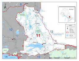 Canadian Time Zone Map by Fisheries Management Zone 11 Fmz 11 Ontario Ca