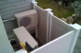 ductless mini split hidden proper installation of 2 adjacent outdoor mini split units