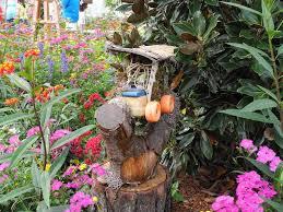 Diy Fairy Garden Ideas by Tinkerbell U0027s Miniature Fairy Garden Houses At Disney U0027s Epcot Park