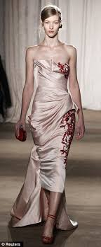of the gowns marchesa shows carpet ready gowns inspired by 17th century