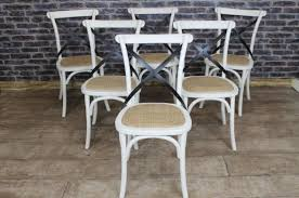 Cross Back Dining Chairs Dining Chairs Glamorous White Cross Back Dining Chairs Target