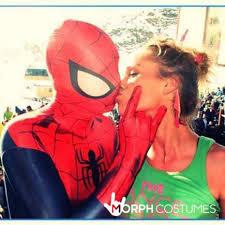 deluxe spider man costume for men morphcostumes uk