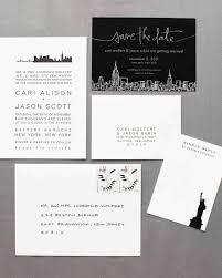 wedding invitations new york 18 classic save the dates martha stewart weddings