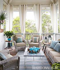 how to create an inviting outdoor room drapery panels porches