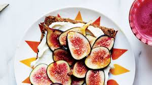 sweet and salty fig toast recipe bon appetit