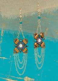 105 best beaded earrings projects images on pinterest beaded