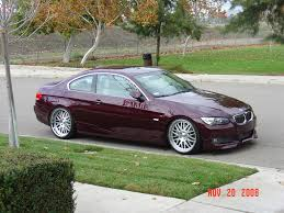 dark green bmw 335d barbera red rims and tires ideas