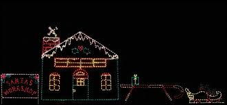 animated outdoor christmas decorations santas christmas workshop animated outdoor yard display christmas