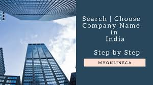 how to search choose company name in india youtube