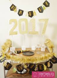 New Years Party Table Decorations by Diy Craftaholics Anonymous