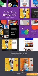 social media brochure template social media booster kit 2 free free graphic templates