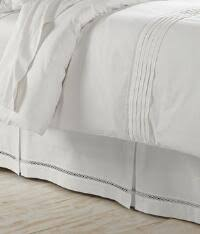 Detachable Bed Skirts 14 Inch Drop Bed Skirts U0026 Dust Ruffles Country Curtains