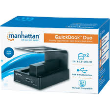usb 3 0 sata 2 ports hdd docking station manhattan from conrad com