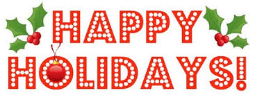 saying happy holidays clipart clipartbarn