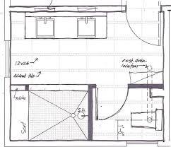 bathroom floor plans walk in shower plans freda stair