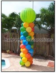 butterflies and flowers balloon centerpiece party decorations