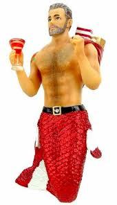 december diamonds santa ii merman with presents