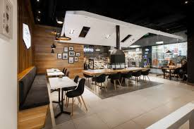 the new cafeina café makes its guests feel right at home at the mall