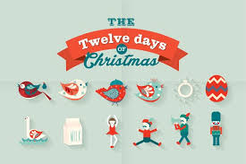 the 12 days of vector illustrations creative market