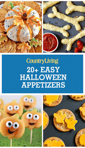 Eyeball Appetizers For Halloween by 21 Easy Halloween Party Appetizers U2014 Best Recipes For Halloween