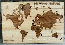 Bedroom Design Map World Map On Wood Planks Nana U0027s Workshop